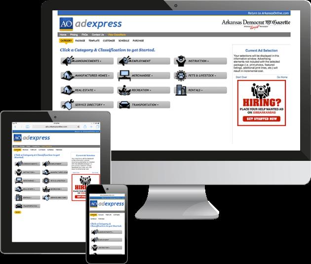 Self Serve Newspaper Classified Software