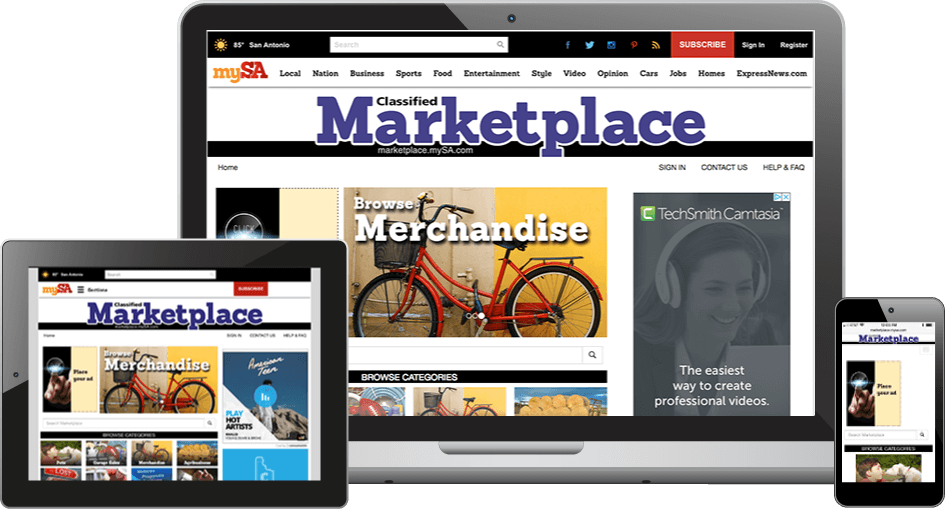 ipublish marketplace on devices