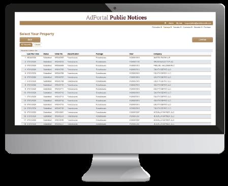 affidavit inventory on computer